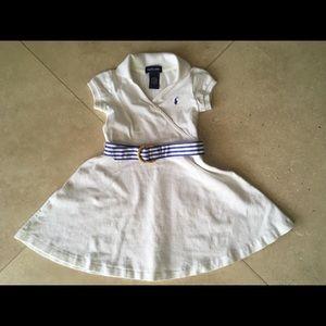 Kids white Ralph Lauren dress